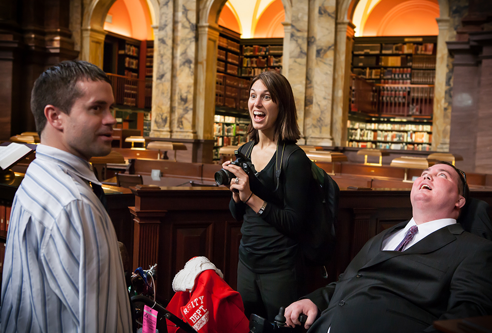 A veteran with Stage IV cancer was gifted with a private tour of the Library of Congress by his state representative from Iowa.